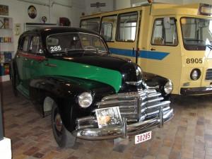 Taxi Vert Chevrolet